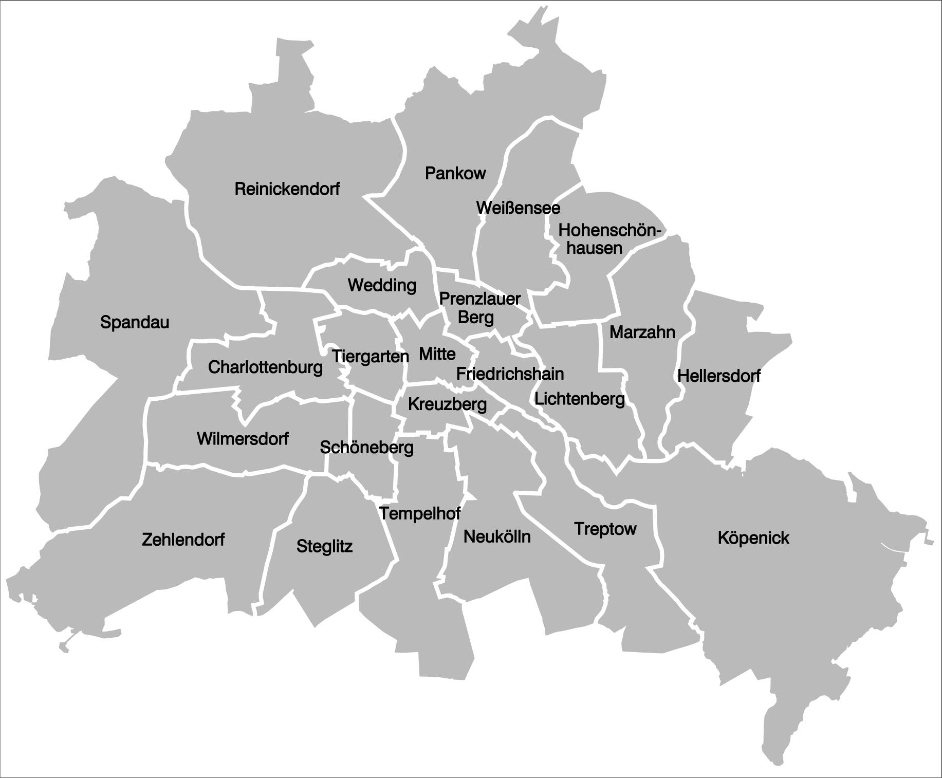 Berliner Bezirke