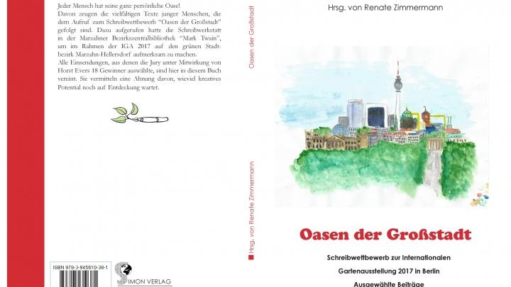 Cover des Buches mit den Teilnehmertexten zum Schreibwettbewerb
